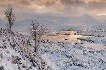Across Lochan na Stainge