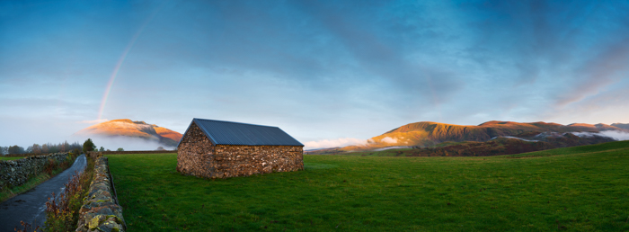 castlerigg-barn-at-sunset