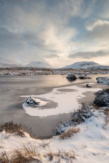 Loch Ba in Winter