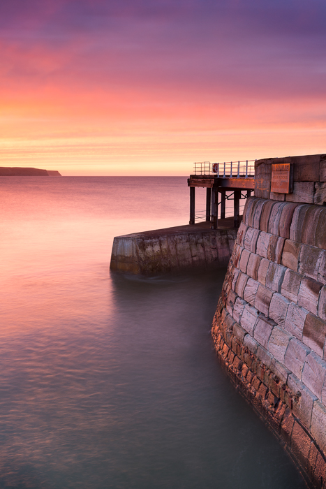 sunset-whitby-west-pier