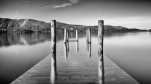 Ashness Jetty in Flood