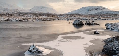 Loch Ba in Winter