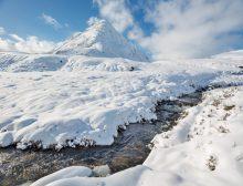 Stob Coire Raineach Winter 1