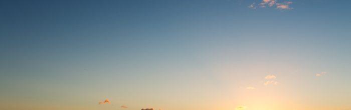 Sunset over Skye