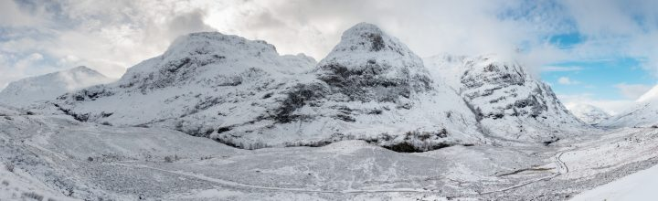 The Three Sisters – A Winters View